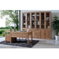 实木家具 榆木家具 榆木书柜 高档实木家具