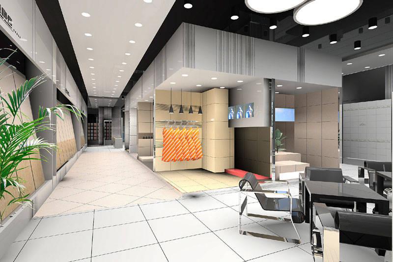 展厅设计图-北京展厅设计图