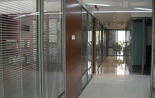 办公室玻璃百叶隔断