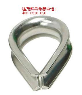 钢丝绳连接鸡心环|套环怎么用-索具专卖