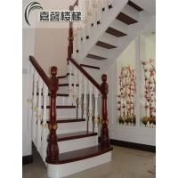 北京实木楼梯别墅楼梯楼梯踏步板家用实木楼梯