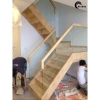 北京实木楼梯定制整体楼梯厂家直销