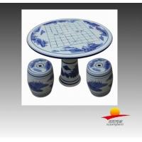 陶瓷桌子,棋盘陶瓷桌面桌子,景德镇陶瓷桌子