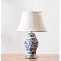 创意陶瓷台灯,青花陶瓷台灯