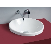 四维卫浴- 洗面器-四维 1610W嵌入式洗面盆