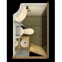 铜墙铁壁集成卫浴TM1320整体卫浴间