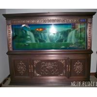 威泽利铜鱼缸铜装饰