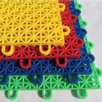 销售悬浮地板运动地板塑料组装地板