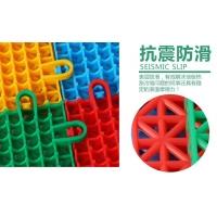 厂家提供悬浮式拼装地板幼儿园运动场专用安全无毒非PVC地板
