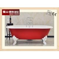 科勒格莱铸铁贵妃浴缸独立式1.75米
