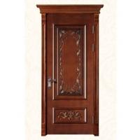 实木雕花套装门-Jw-1427