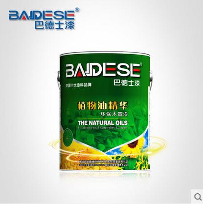 巴德士 正品 植物油精华透明底漆 手感细腻滑爽 保光保色 5