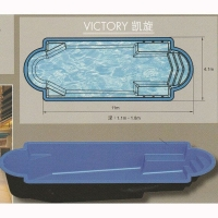 南京泳池休闲设备-纤维游泳池