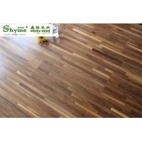 供应 森怡黑胡桃-木石复合实木地暖地板