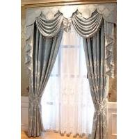 武汉法式风格窗帘-武汉现代窗帘