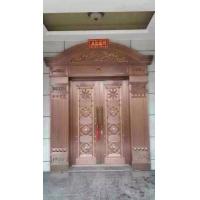 西安别墅铜门 豪华铜门图片