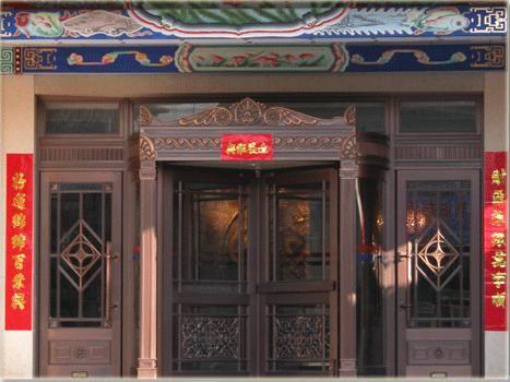 西安三翼旋转门 酒店手动转门