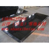 广东花岗岩板材 黑色花岗岩台面 抛光面橱柜台面