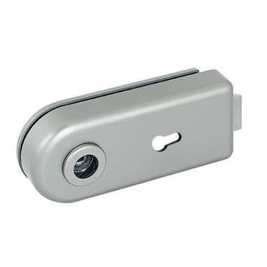海福乐五金-玻璃门五金-玻璃门一体式锁
