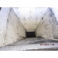 鲁松丽加工定做 高分子聚乙烯煤仓衬板自润滑 不膨堵