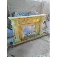 天然玉石壁炉  玉石壁炉