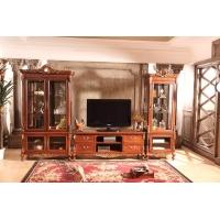 法式地柜,电视柜酒柜组合,纯手工雕花电视柜