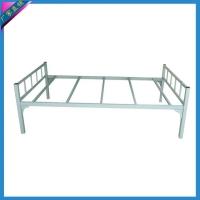 供应1.2米学生单层床 铁架床 员工宿舍床 高低床