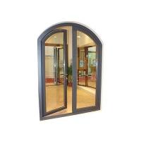供应铝木复合门窗佛山博森特72断桥铝木平开门
