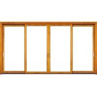 供应铝木复合门窗佛山博森特158铝木推拉门