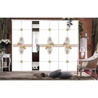 佳汇艺术玻璃衣柜门推拉门移门超白5D衣柜门