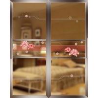 佳汇5D工艺玻璃隔断门阳台推拉门卫生间厨房推拉门