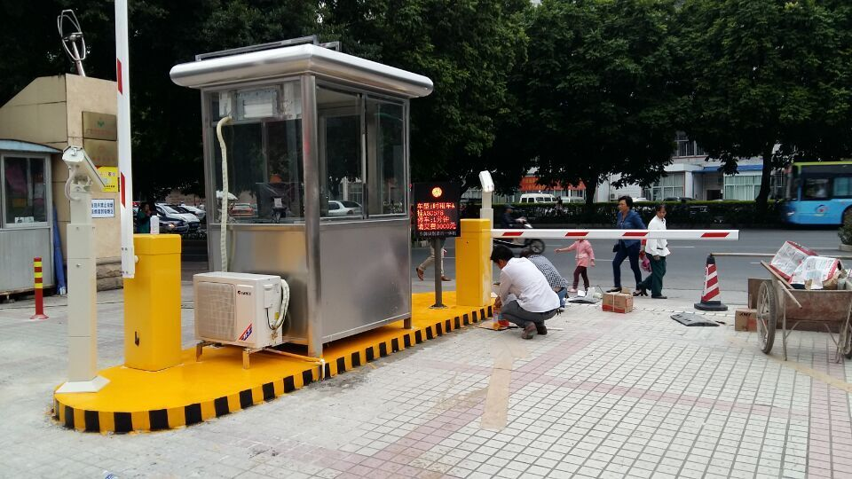 南宁HCKJ停车场车牌识别系统