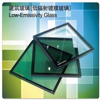 雙銀low-e中空幕墻玻璃圖片