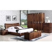 北美黑胡桃家具全实木卧室家具成套家具组合