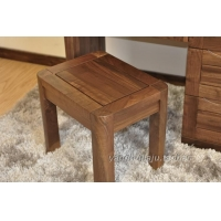 上海北美黑胡桃实木小凳子纯木化妆凳黑胡桃木吃饭小凳子现代简约