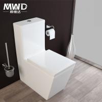 穆维达卫浴 出口澳洲方形马桶 完全贴墙高端坐便器销售