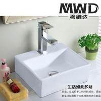 工程推荐简约耐用优等陶瓷台上艺术盆 洗手盆尺寸335*290