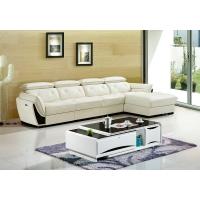 皮艺沙发 头层牛皮组合现代客厅多功能沙发 转角L型真皮