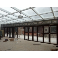 天津铝包钢阳光房钢结构阳光房