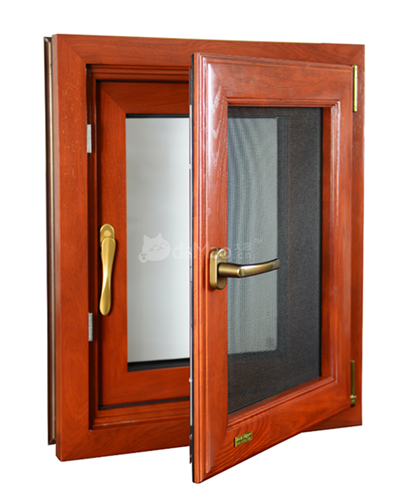 天津RT-88卡扣式铝包木门窗