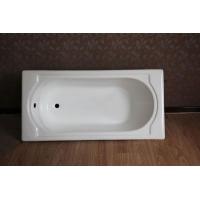 高品质嵌入铸铁浴盆 搪瓷浴缸