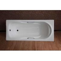 嵌入式铸铁浴缸 搪瓷浴盆 搪瓷浴缸