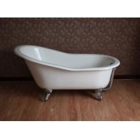 贵妃缸 铸铁贵妃缸 独立式铸铁搪瓷浴缸工厂