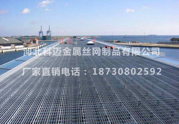 桥梁栈道平台钢格板_钢格板走廊【科迈】