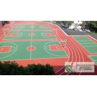 立诚体育超高性价比13mm透气型塑胶跑道