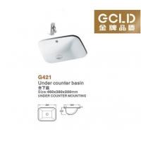 G421 台下盆 金牌品质卫浴GCLD