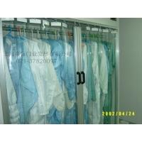 供应防静电超透明pvc折叠门帘21