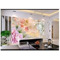3D背景墙安装 3D背景墙UV装饰板