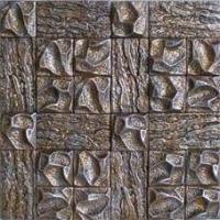 天然装饰材料陶雕采金马赛克