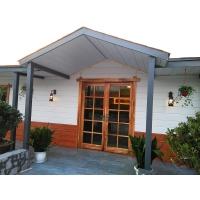 别墅金属面雕花墙板 钢结构墙板 聚氨酯芯材隔热保温装饰板